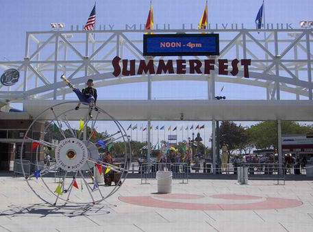 summerfest. Summerfest kicks off today