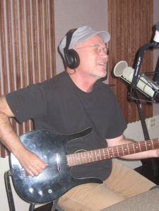 "Marshall in studio performing ""Whenever You're On My Mind"""