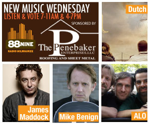 New Music Wednesday: James Maddock, ALO, Dutch, and Mike Benign